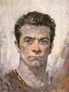 Frank Frazetta - Self Portrait